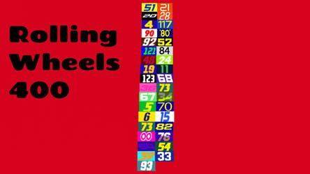 Rolling wheels 400 by carsfan16