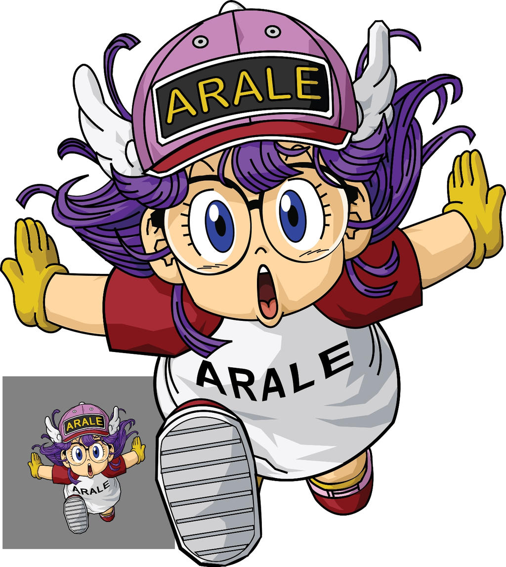 Arale Norimaki By Myker On DeviantArt