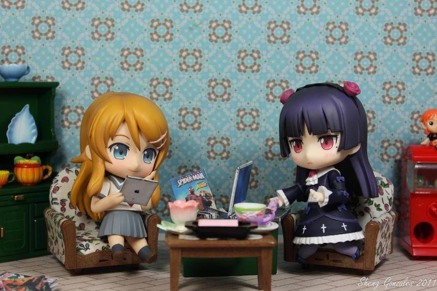 Kuroneko and Kirino