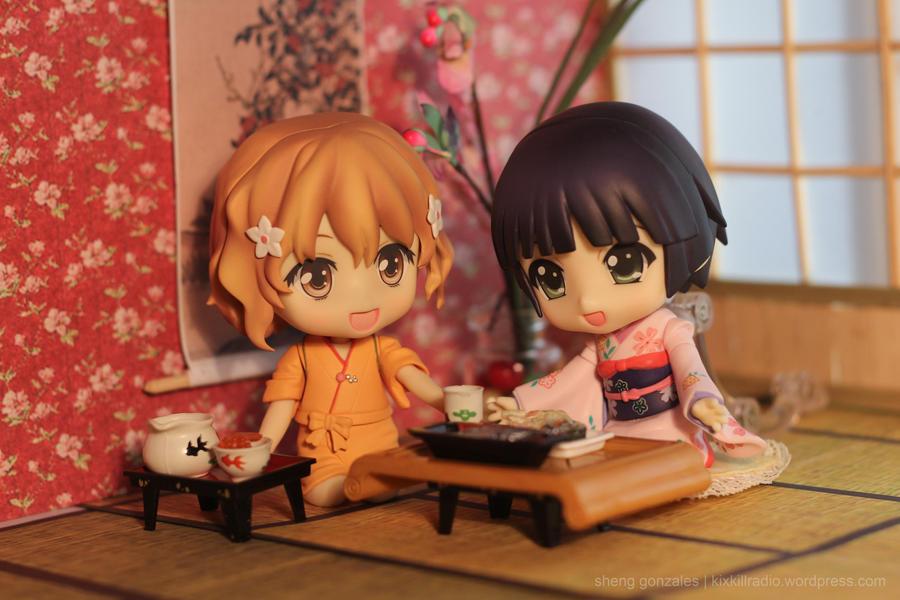 Ohana and Yune at the Inn by kixkillradio