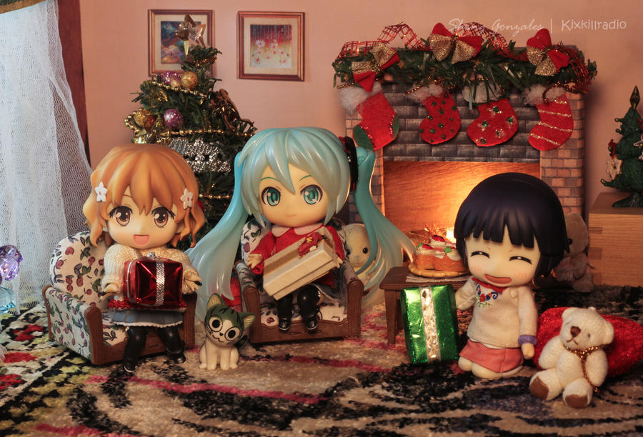 Nendoroid Christmas Day by kixkillradio