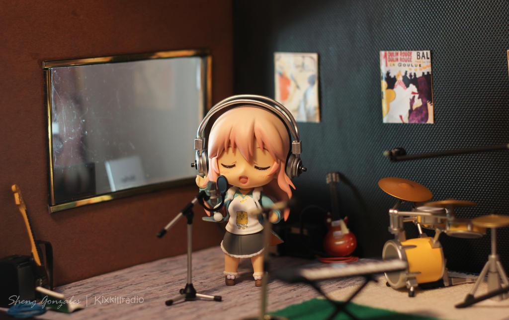 Super sonico recording studio by kixkillradio on deviantart for Super studio