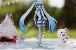 Snow Miku and Snow Man