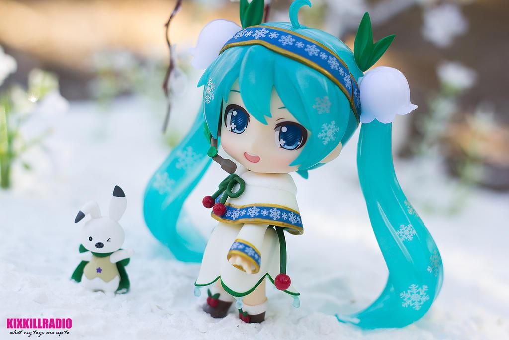 Snow Miku Snow Bell Ver. by kixkillradio