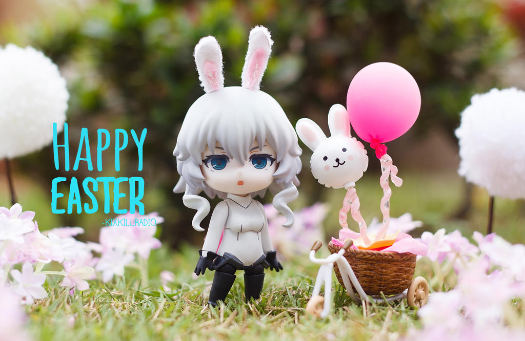 Happy Easter from Wo-chan! by kixkillradio