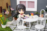 Homura in the Patio