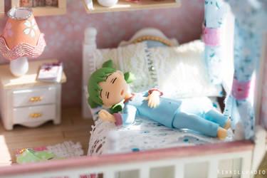 Yotsuba in her new bedroom by kixkillradio