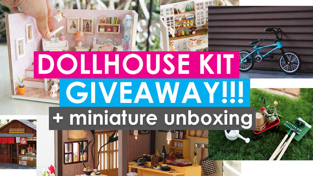 DOLLHOUSE KIT GIVEAWAY!! by kixkillradio