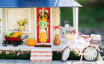 Yotsuba and Fall Decoration