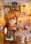 Asuna at the Cake Shop