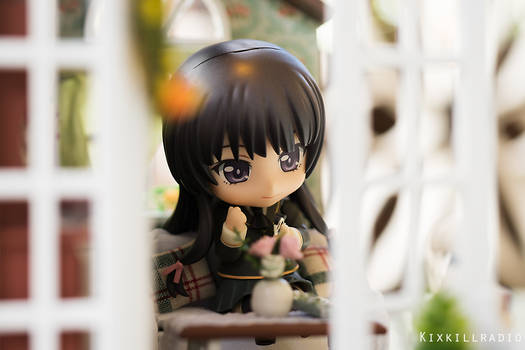 Yozora love her snacks