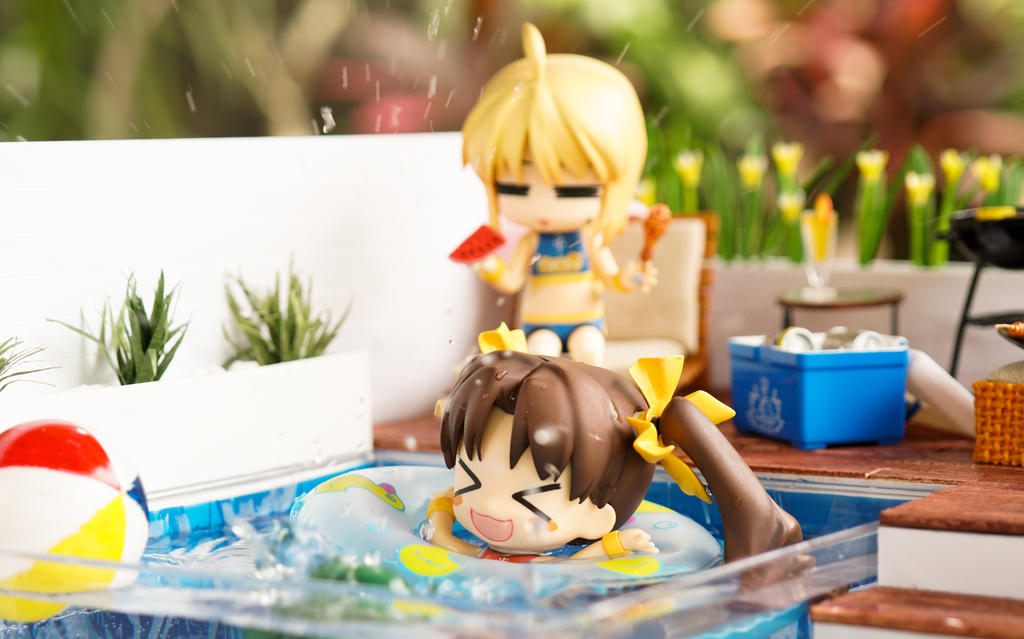 Splash, Swim, and Have Fun by kixkillradio