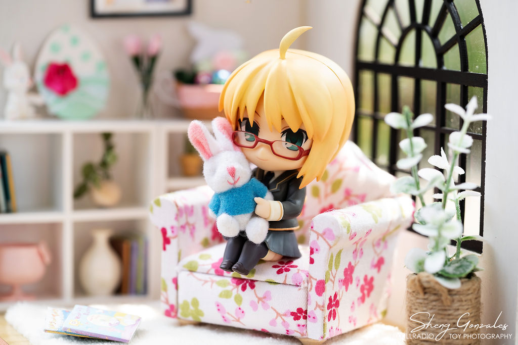 Little Saber and a Rabbit Doll by kixkillradio
