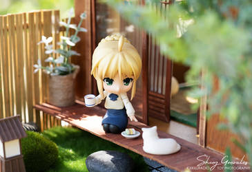 Tea time with Saber