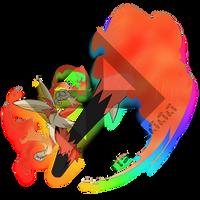 Fire-type - Blaze Kick by TheHollowBoy
