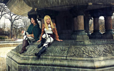 SnK Cosplay - Raining Days by ShuXin