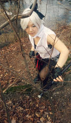 Rin Kagamine Knife Cosplay - Searching by ShuXin