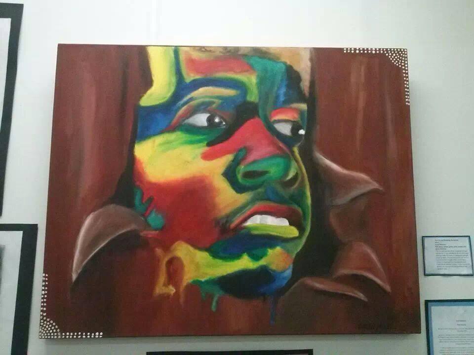 Major Piece - Self Portrait by Mooney95
