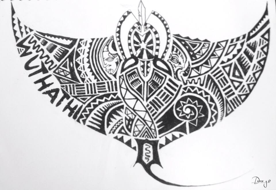 Torres Strait Island Tattoo Designs