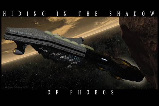Hiding in the Shadow of Phobos