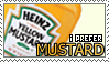 I Prefer Mustard Stamp by Sheikah-ness