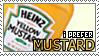 I Prefer Mustard Stamp by Sheikah-ness