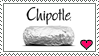 Chipotle Love Stamp by Sheikah-ness