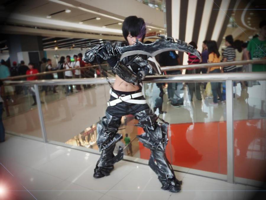 Insane Black rock shooter male ver~ by kamikurosuHibari