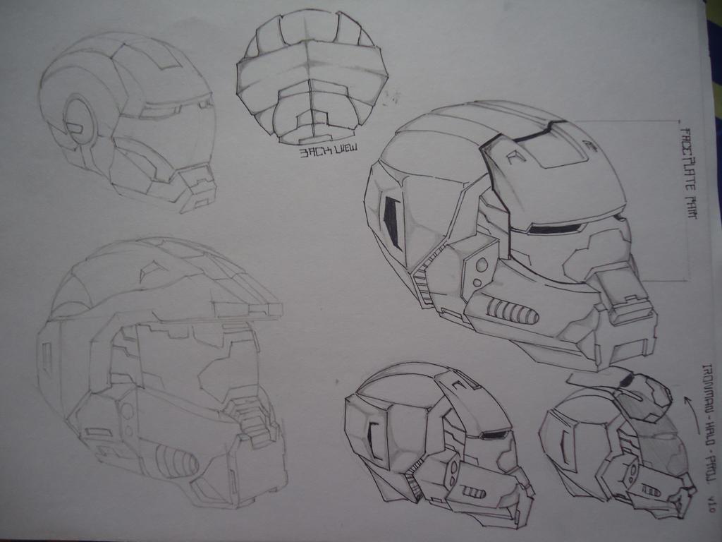 Halo Wars + MKVII Concept [ Helm ] by kamikurosuHibari