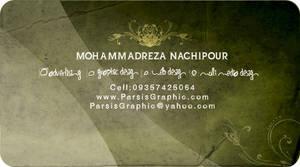my visiting card