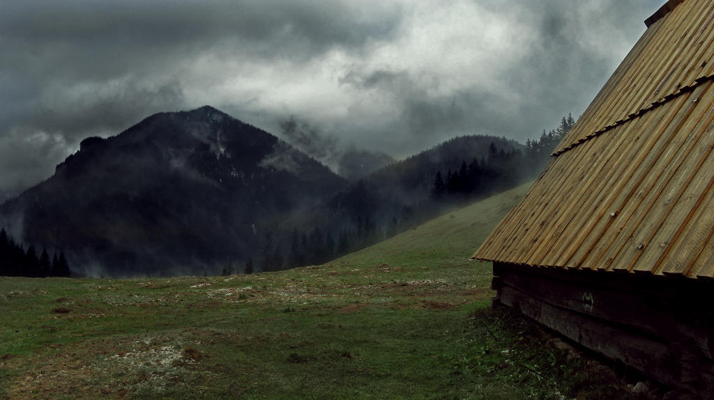 Tatry Mountains III v 2 by Pharaun333