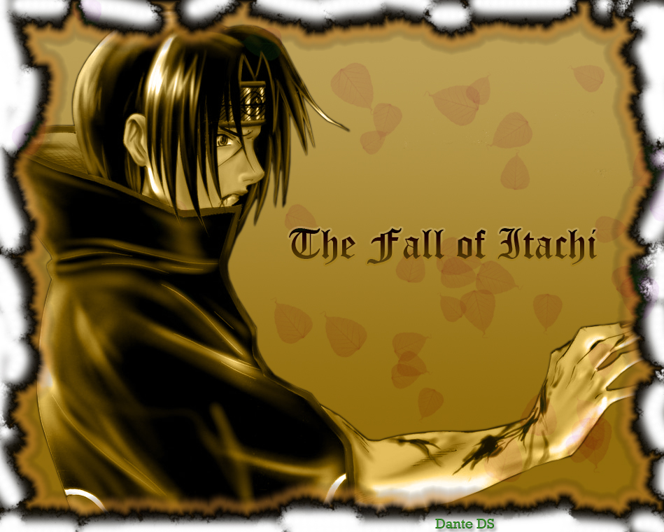 Fall of Itachi by dante-ds by Deviant-Brazilian-FC