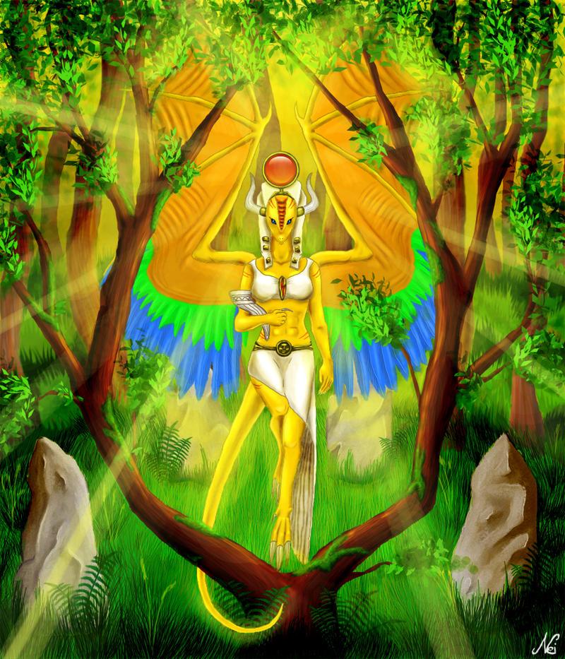 Sun Goddess by Neinka