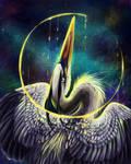 Great Blue Space Heron