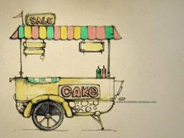 Trolley cake by Sithzam