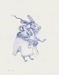 Rabbit Kabuki by Sithzam