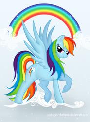 Rainbow Dash by RoyallyCrimson