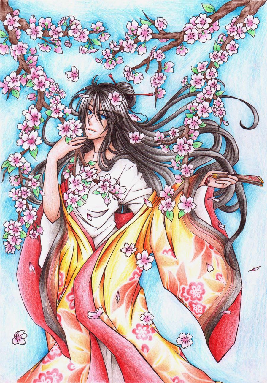 Sakura Flowers by MaruHimeChan