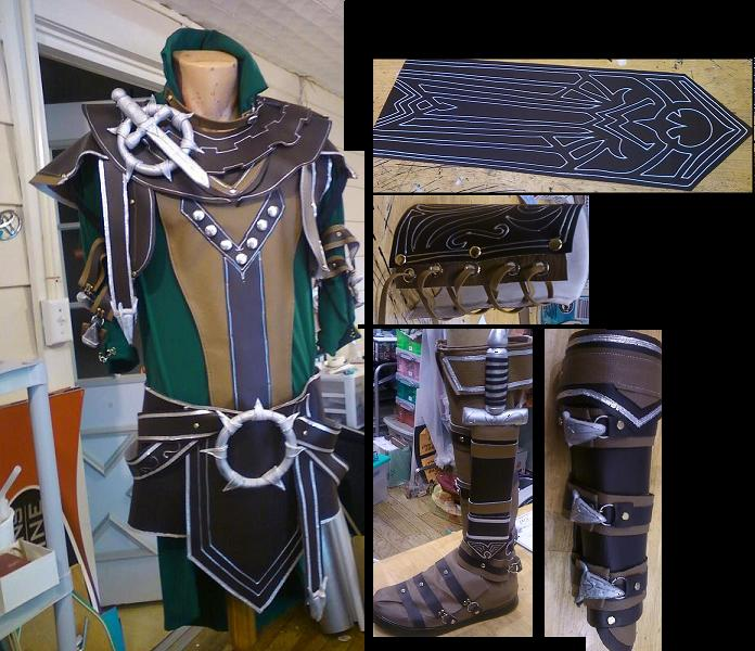 Guild Wars -  Shining Blade by Destinyknights