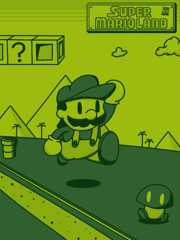Super Mario Land by JOSHDILISI