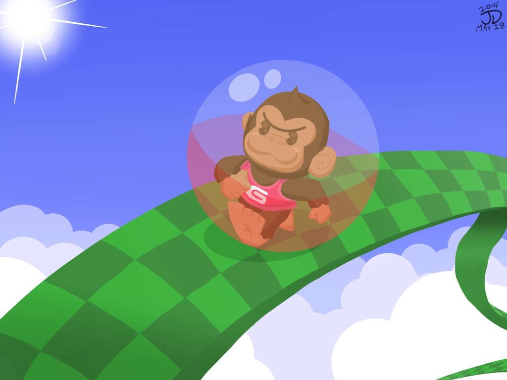 Super GonGon Ball by JOSHDILISI