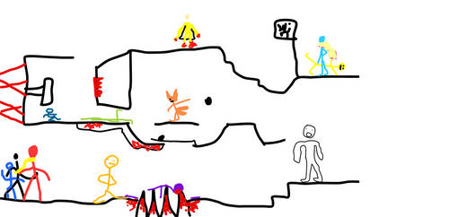 Hyun's Obstacle Course 6