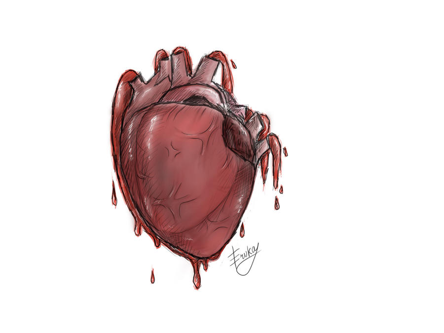 Real Heart Drawing For QueryFree A Real Heart