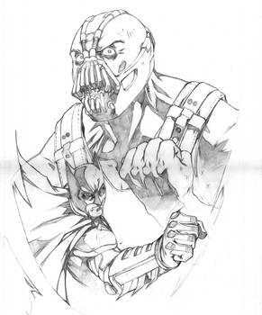 Imminent Battle: Dark Knight art contest (pencils)