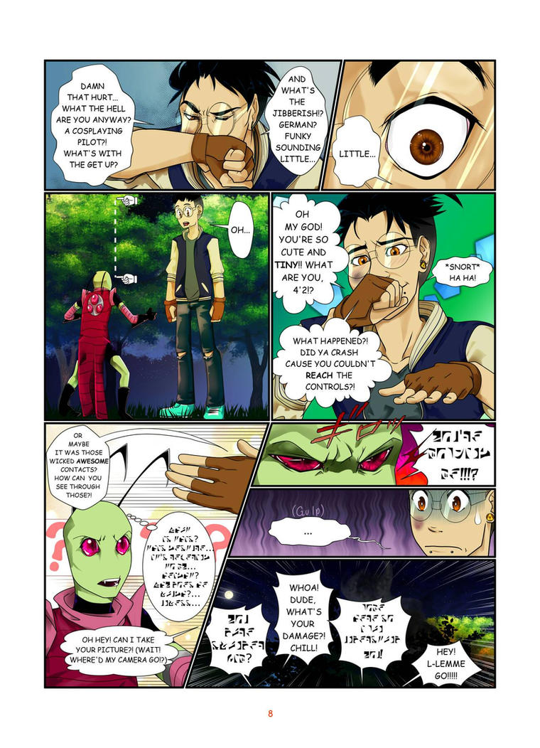 In The Forest Ch1 pg8 by NotYourTherapist