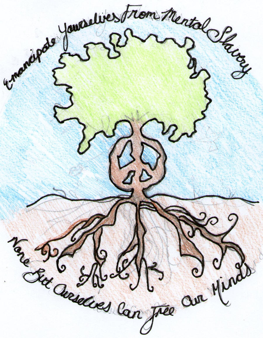 peace tree by evilgrape6090 designs interfaces tattoo design a tattoo ...