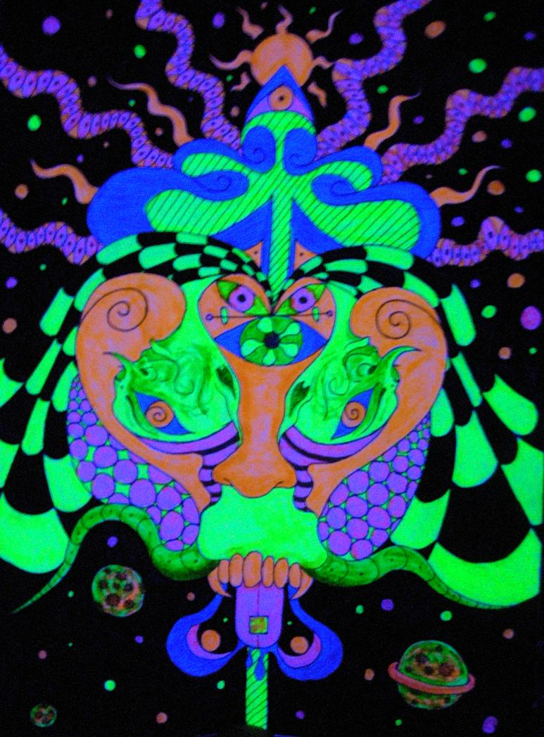 art aliens psychedelic - photo #6