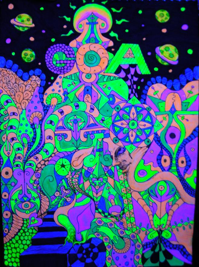 Psychedelic  Trip of goa