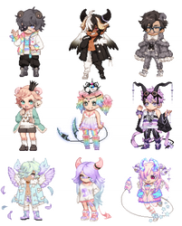 Soft Baby Gaia Adopts - OPEN 8/9
