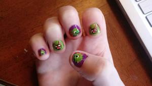 Yooka-Laylee nails